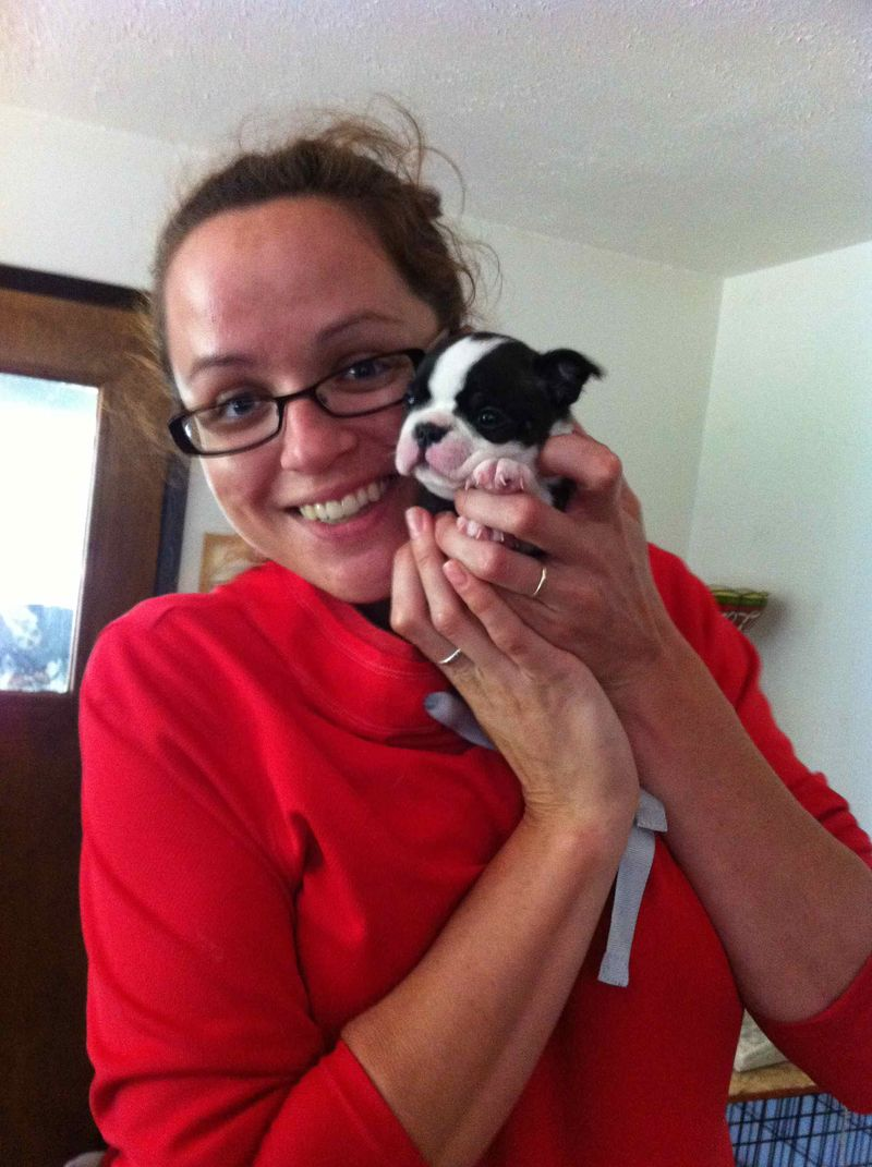 Amy and Puppy